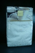 LENOX 90 Inch Round Tablecloth Opal Innocence - $34.65