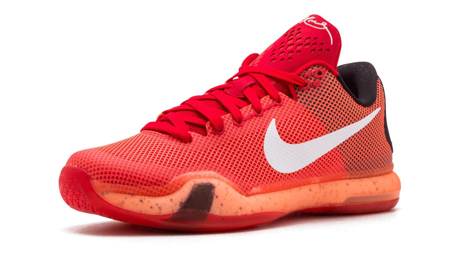 63d92af668b6 Nike KD X University Red White Bright Crimson Kevin Durant Mens Shoes  705317 616