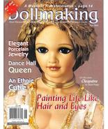 Dollmaking June 2002 Porcelain Dolls Jewelry Pull Out Pattern Magazine B... - $4.93