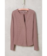 NWT ANTHROPOLOGIE CABLEKNIT BOILED WOOL BLAZER SWEATER by KNITTED & ... - $99.74