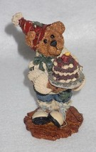 Boyd Bearstone 1996 M. Harrison's Birthday Resin Figurine #2275 5E NEW I... - $8.56