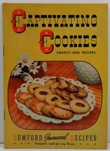 Captivating Cookies Twenty-One Recipes Rumford Chemical Works - $3.25