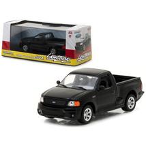 1999  Ford F-150 SVT Lightning Pickup Truck Black 1/43 Diecast Model Car... - $27.20