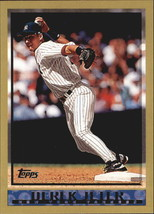 2010 Topps Cards Your Mom Threw Out #CMT105 Derek Jeter - $3.49
