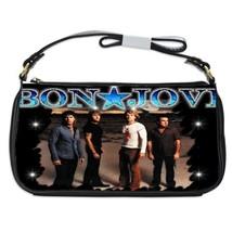 BON JOVI Photo Shoulder Clutch Bag/Purse/Handbag  - $20.99