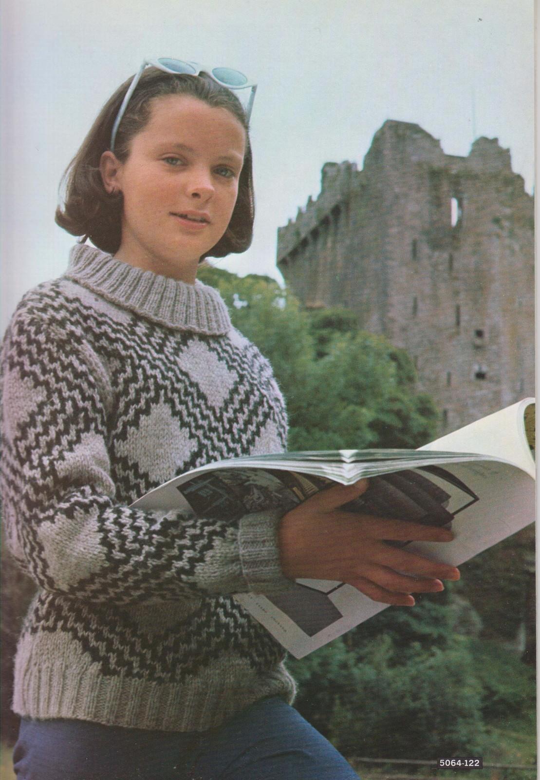 Bernat 1964 Knitting Pattern Book Brawny and 50 similar items