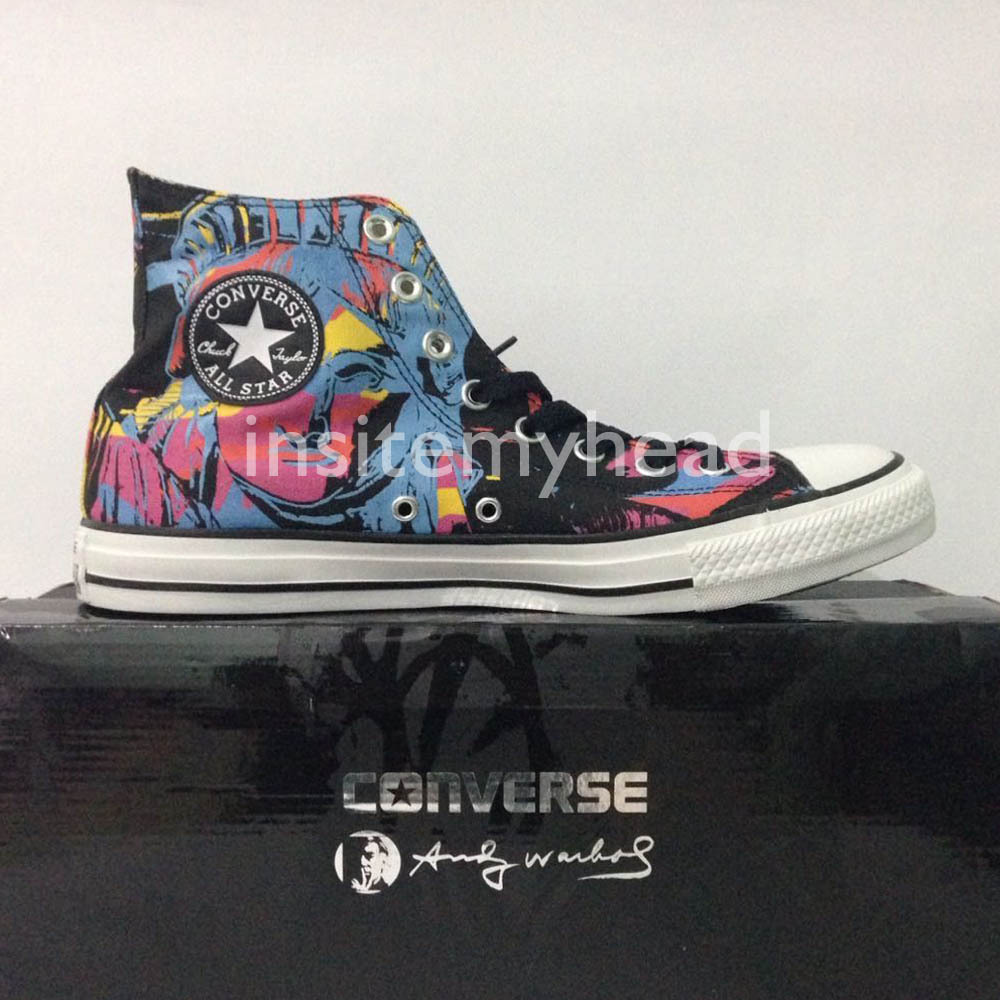 Primary image for Converse Chuck Taylor All Star Andy Warhol Statue of Liberty Pop Art Men Shoes