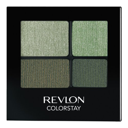 Revlon Colorstay 16 Hour Eye Shadow Quad, Luscious, 0.16 Ounce
