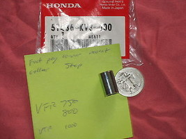 Nos Honda Foot Peg Lower Mount Collar Step Spacer Vfr 750 800 Vtr 1000 - $6.61