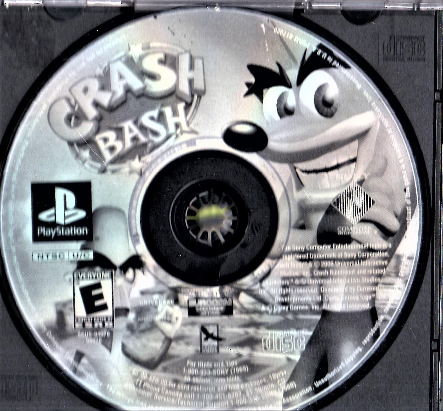 PlayStation  -  Crash Bash (Greatest Hits) image 6
