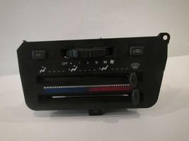 TEMPERATURE TEMP AC A/C CONTROL 91 92 93 94 Saturn S Series Coupe W/ AC ... - $25.56