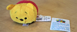 Winnie The Pooh Disney Tsum Tsum Toy Brand New With Tags Japan Rare - $11.00
