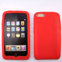 Red  Silicone Skin Case for Apple iPod Touch 2 3 2G 3G - $9.95