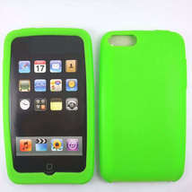 Green Silicone Skin Case for Apple iPod Touch 2 3 2G 3G - $9.95