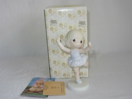 Precious Moments You Deserve An Ovation Ballerina Figurine 520578 w Box MIB - $29.69