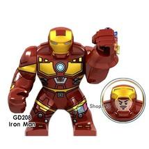 Big Size Iron Man with Infinity Gauntlet Marvel Avengers Endgame Lego Minifigure - $4.99