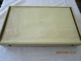 Vintage Silverware Chest Gorham Faux Leather Large Silvercloth - $64.99
