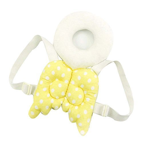 Creative Wings Baby's Head Protection Pad Headrest Angel Hat Drop Resistance Cap