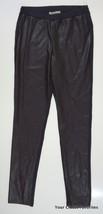 Michael Kors Women's Medium Faux Leather Panel Skinny Legging Pants Navy/Brown - $23.97