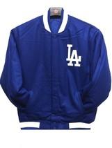MLB Los Angeles Dodgers JH Design Wool Reversible Jacket Embroidered Royal Blue - $129.99