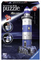 Ravensburger Lighthouse - Night Edition - 3D Puzzle 216-Piece - $30.87