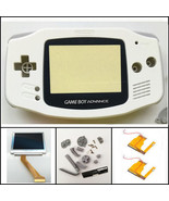 Nintendo Game Boy Advance GBA Backlight 101 White Mod Kit BRIGHTNESS SWI... - $67.46