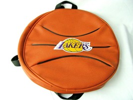 Vintage Los Angeles Lakers Basketball Backpack Vinyl RARE Wear to games - $26.68