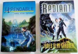 Expendable and Radiant by James Alan Gardner HC DJ League of Peoples  - $8.49
