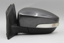 2015-2018 Ford Focus Left Driver Side Magnetic Gray Power Door Mirror Signal Oem - $138.59