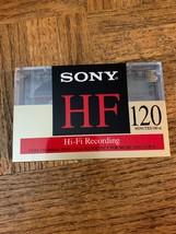 Sony HF 120 Minute Cassette - $17.70