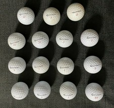 Lot of 15 Used TaylorMade Golf Balls - $9.99