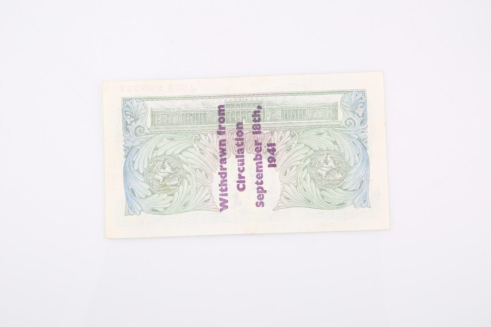 1934-1939 ND Gran Bretaña Libra xf-40 PMG Banco de Inglaterra EXTRAORDINARIA image 4
