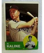 Al Kaline 1963 Topps Batting Pose All-Star Card#25 EX/MINT-Tigers RF GOA... - $49.49