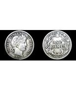 1913-P Barber Dime Silver - $29.99