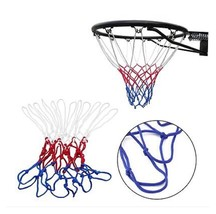 Basketball Netting Red White Blue Basketball Net Nylon Hoop Goal Rim AE9