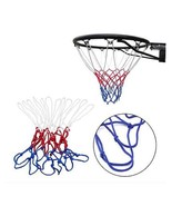 Basketball Netting Red White Blue Basketball Net Nylon Hoop Goal Rim AE9 - $4.99