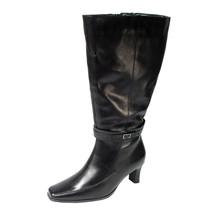 PEERAGE Brook Women Wide Width Fleece Lining Knee High Leather Boots - $134.95