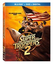 Super Troopers 2 [Blu-ray+DVD+Digital, 2018]
