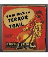 Terror Trail ORIGINAL Vintage Castle Films 8mm Film #572 Tom Mix - $18.55