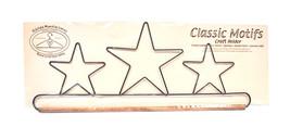 Klassisch Motive Drei Stars 40.6cm Stoff Halter mit Dübel - $18.86