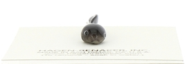 Hagen-Renaker Miniature Ceramic Frog Figurine Tiny Papa Frog, Baby and Tadpole image 5