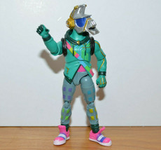 "Fortnite Dj Yonder Action Figure 4"" Tall Jazwares Horse Helmet Guy - $9.37"