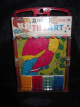New M FUN CRAFT TOTER Jewel Tile Art Parrot Multiple Toymakers Set Rare ... - $7.89