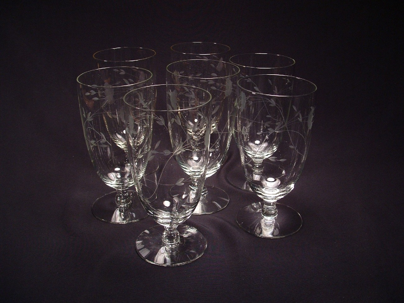 Princess house heritage glassware iced tea glasses for Princess housse