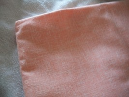 Pastel Orange Cotton Fabric  - $40.00