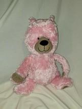 "Circo 2012 Pink/tan Corduroy Stuffed Plush Animal Target Teddy Bear 8"" 10"" - $44.54"