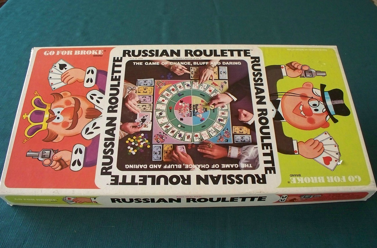 Primary image for Russian Roulette Game by Selchow & Righter 1976 Complete