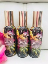 3X BATH BODY WORKS Pumpkin Pecan Waffle CONCENTRATED ROOM SPRAY SET OF 3... - $24.70