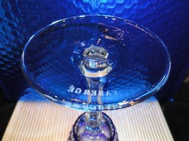 Faberge Xenia Cobalt Blue Crystal Wine Glass without box image 4