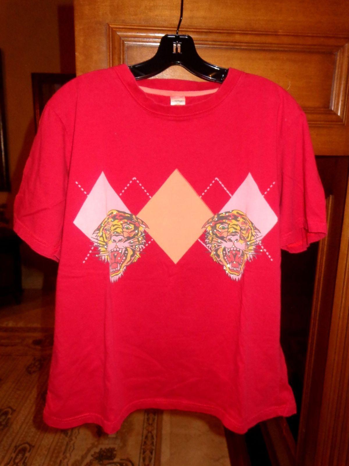 Ed Hardy Mens Designer T-Shirt pre-owned size: Medium